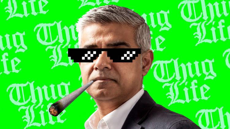 Sadiq Khan cannabis debate