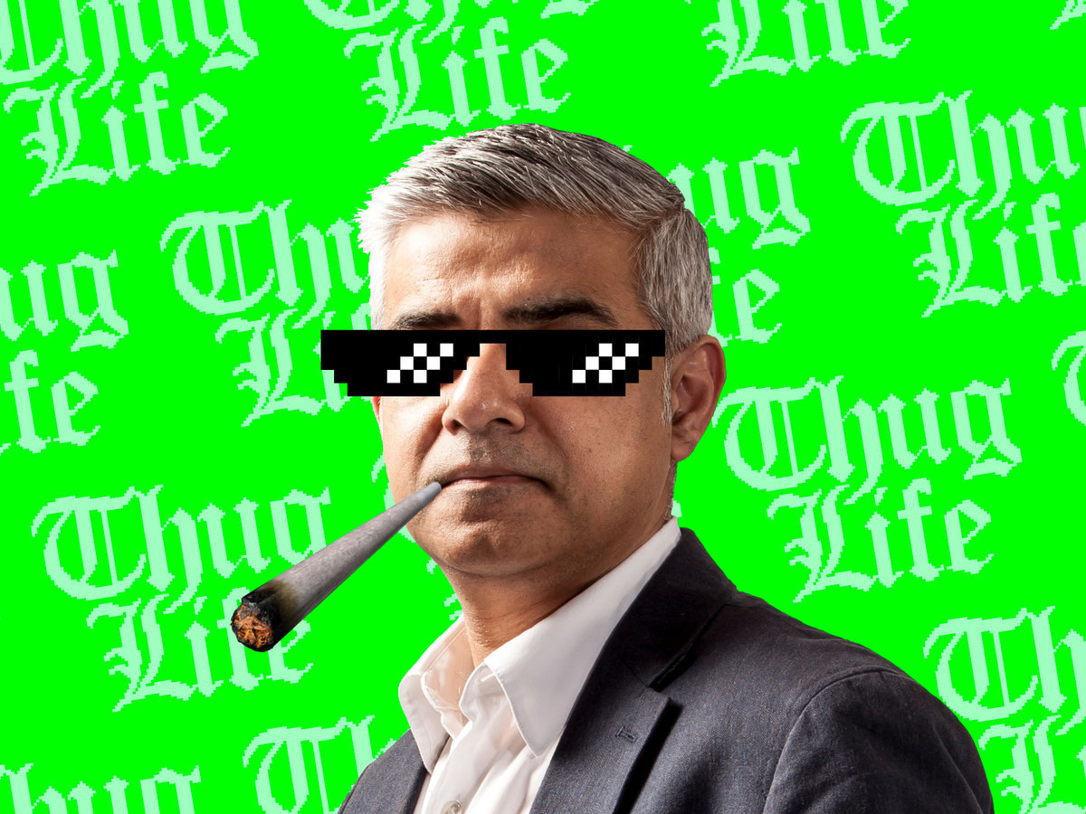Sadiq to consider legalising cannabis in London if re-elected