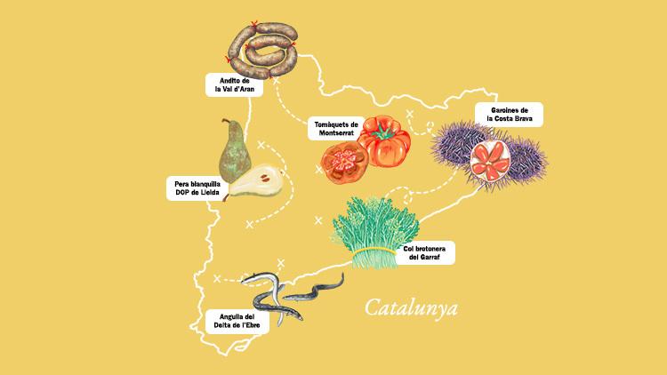 Calendario de alimentos catalanes