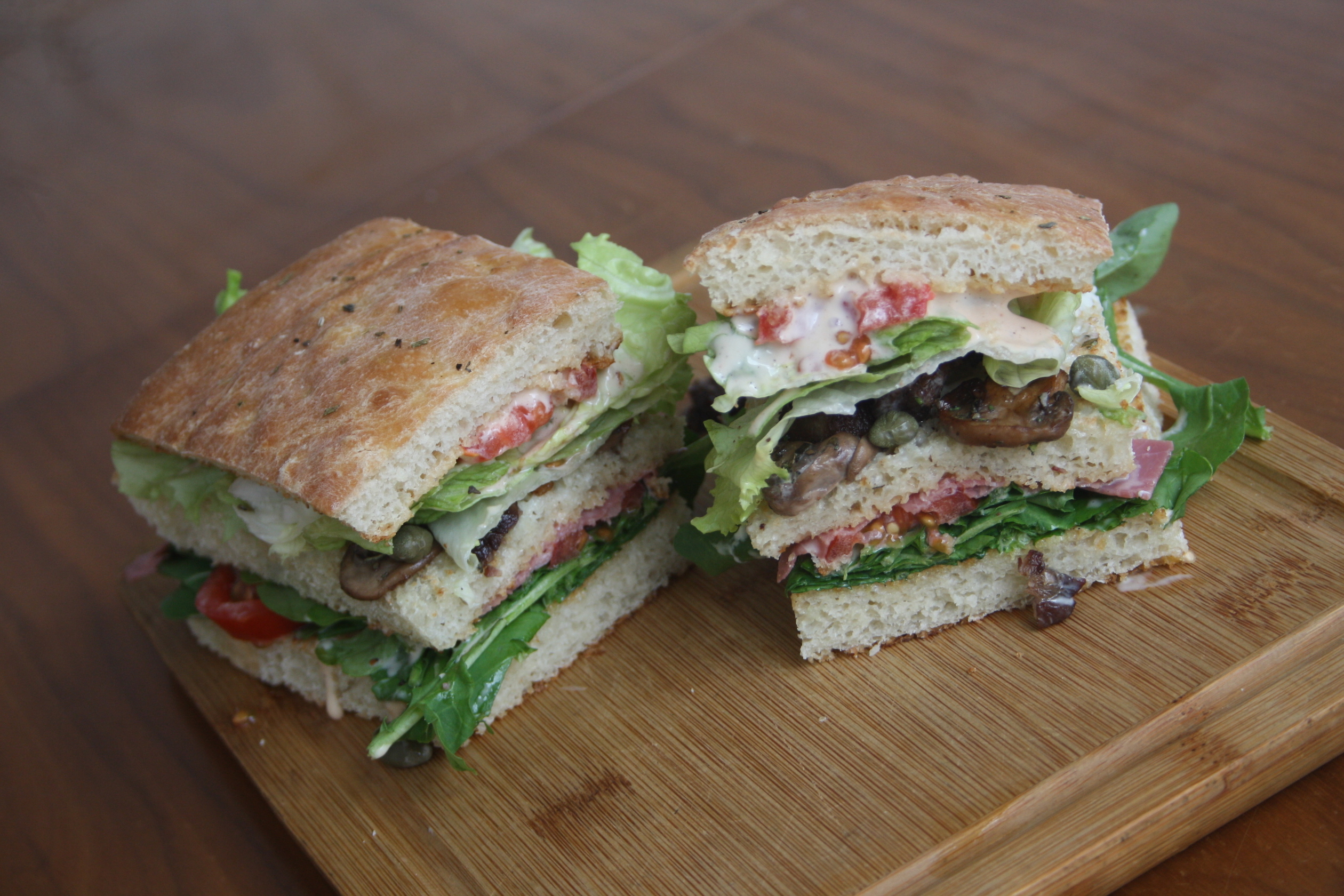 Blue Panini from Bubada Club Sandwiches and More in Istanbul