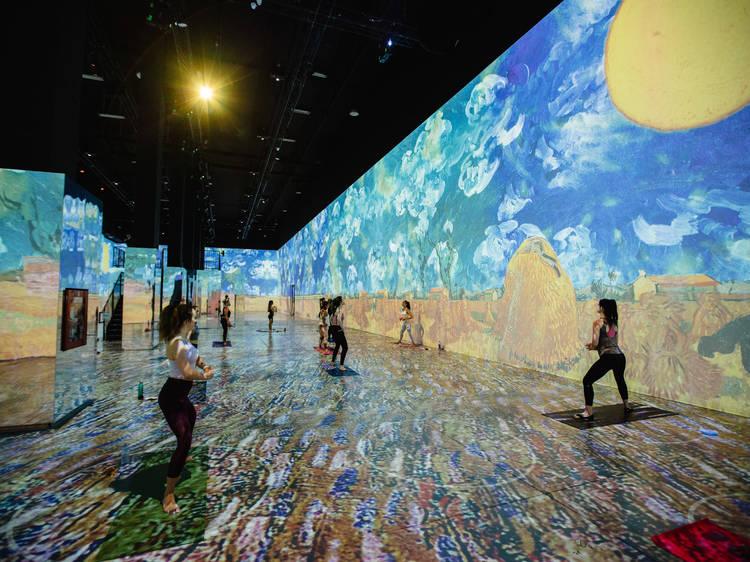 Gogh with Lifeway Immersive Yoga