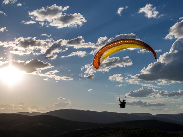 Lugares para volar en parapente cerca de la CDMX