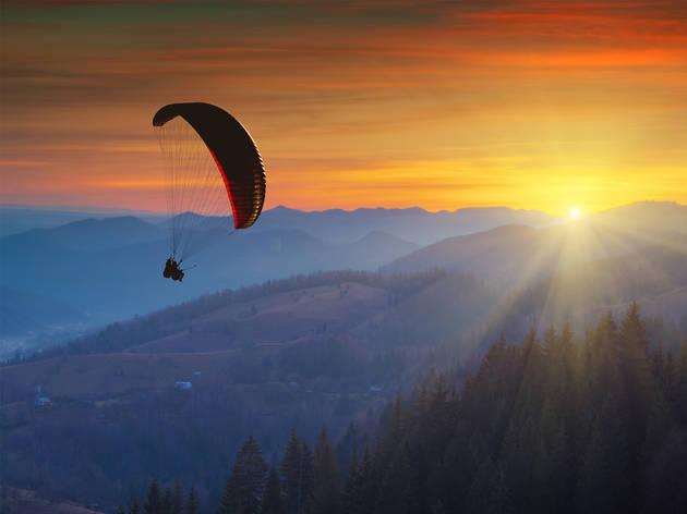 Vamos a volar: globo aerostático, paracaídas y parapente cerca de la CDMX