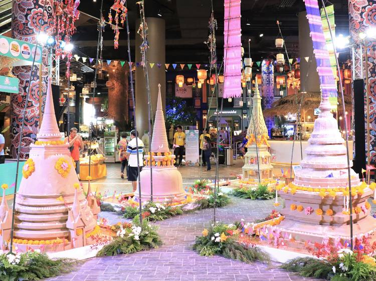 Enjoy an authentic Songkran fair in a new normal style.
