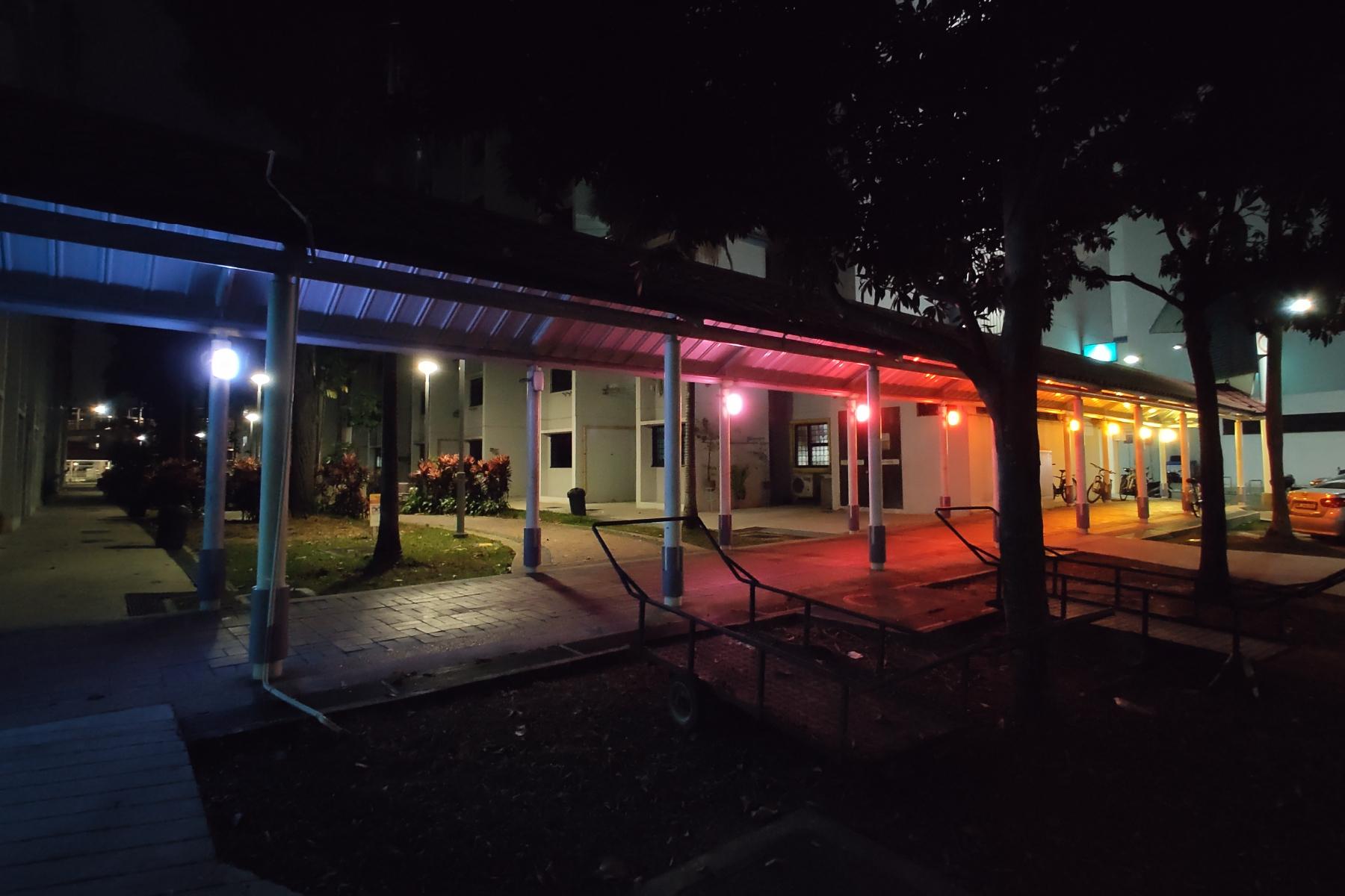 Artist spotlight: This artist lights up HDB blocks in neon hues