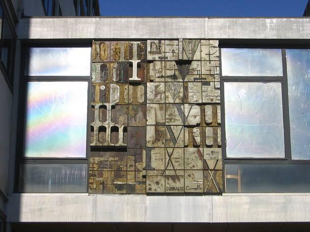 Les Taules de la Llei (1959), Facultat de Dret de la Universitat de Barcelona.