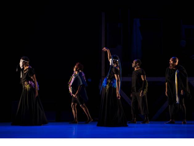 Palco, Teatro, Teatro Griot, O Riso dos Necrófagos