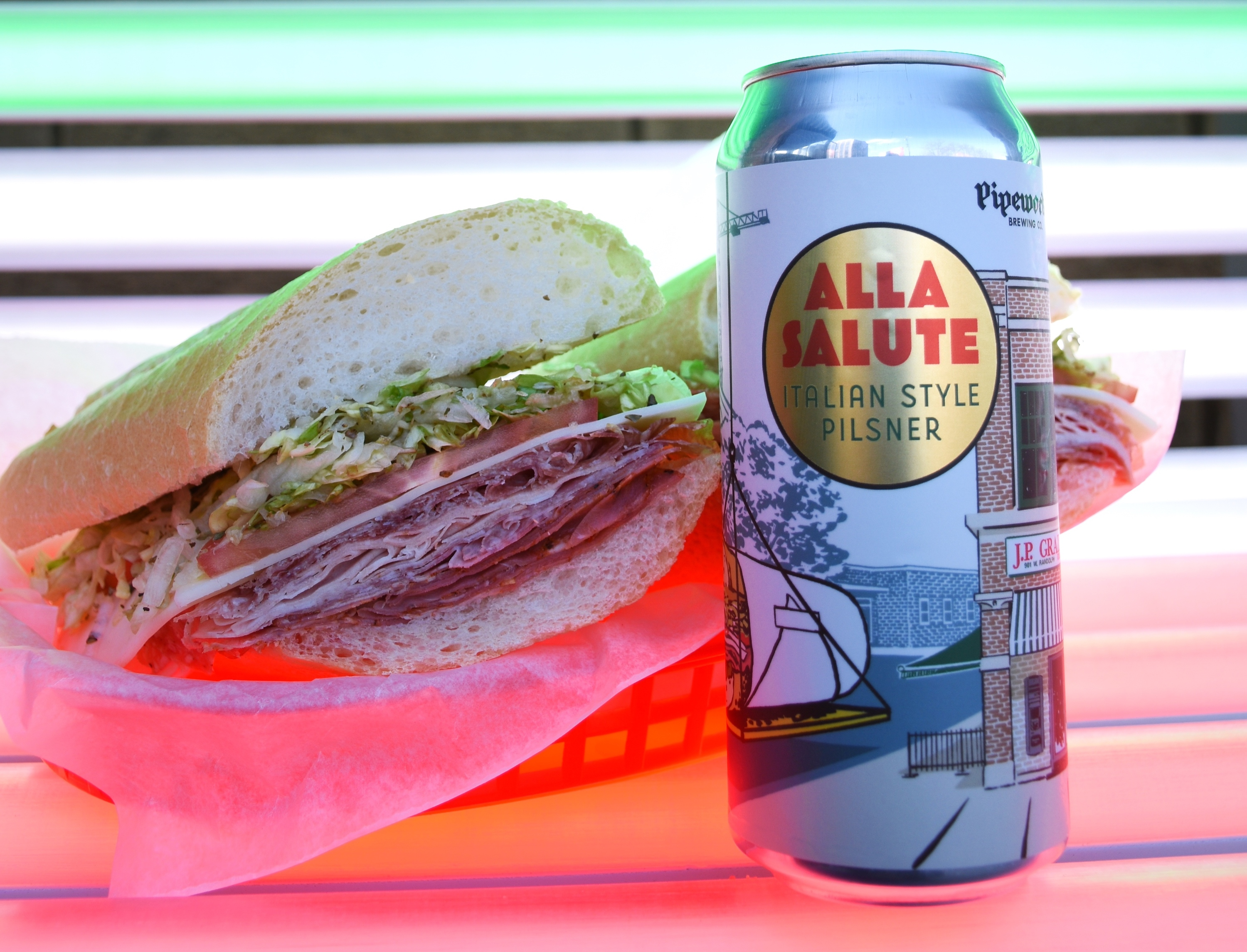 You can now snag the perfect beer to pair with your J.P. Graziano sub