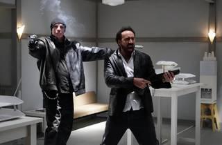 Nicolas Cage totting a gun in Fantastic Film Fest movie Prisoners of the Ghostland