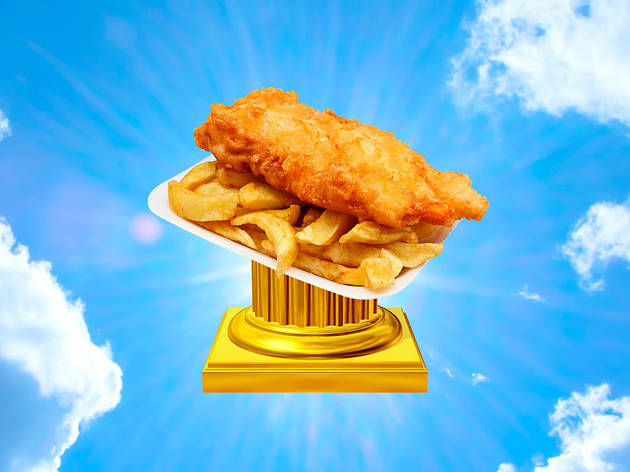 London's best fish-and-chip shop is not what you'd expect