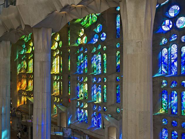 Vitralls de la Sagrada Família