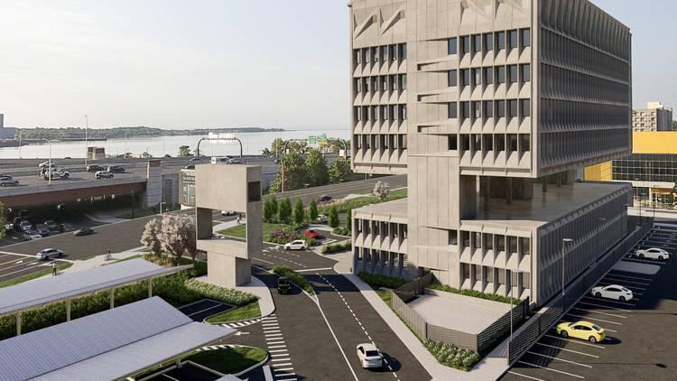 Marcel Breuer building