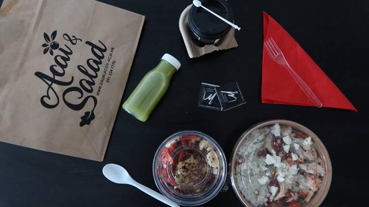 Acai & salad bar, zagreb, takeout, Açaí