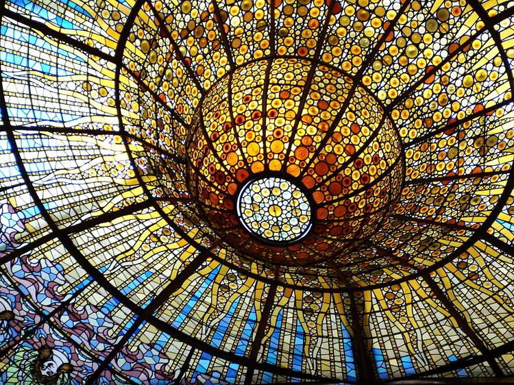 Claraboya del Palau de la Música Catalana