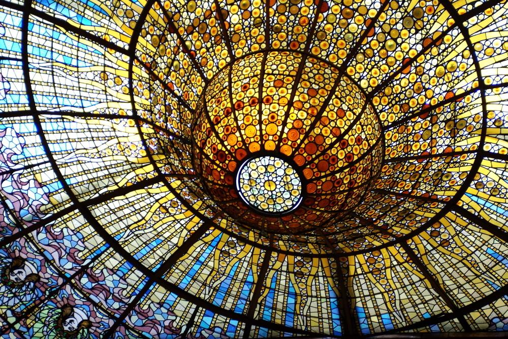 Cúpula del Palau de la Música Catalana