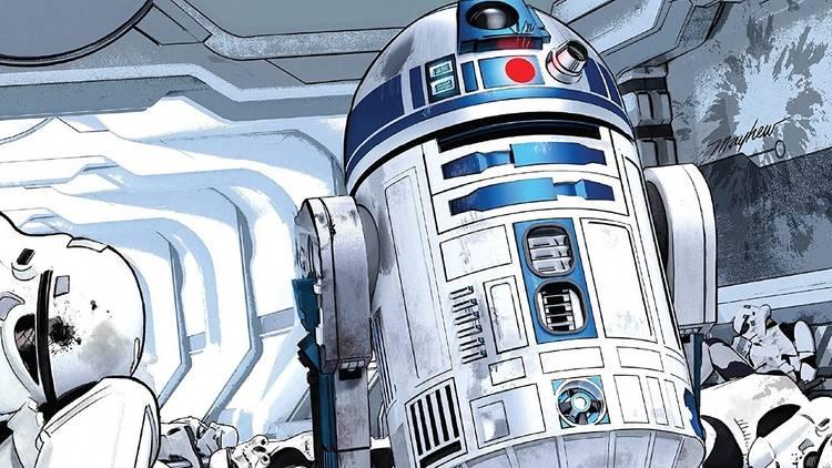 Ilustración de R2D2