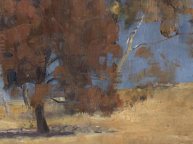 She-Oak and Sunlight Australian Impressionism She-oak and sunlight, 1889, Tom Roberts