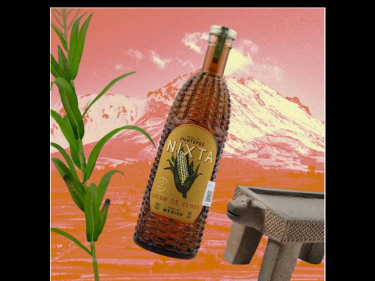 Nixta, licor de elote