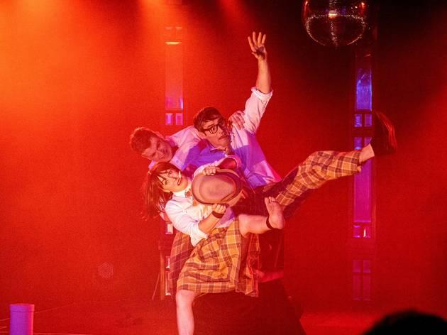 Dumtectives in Cirque Noir MICF 2021 show