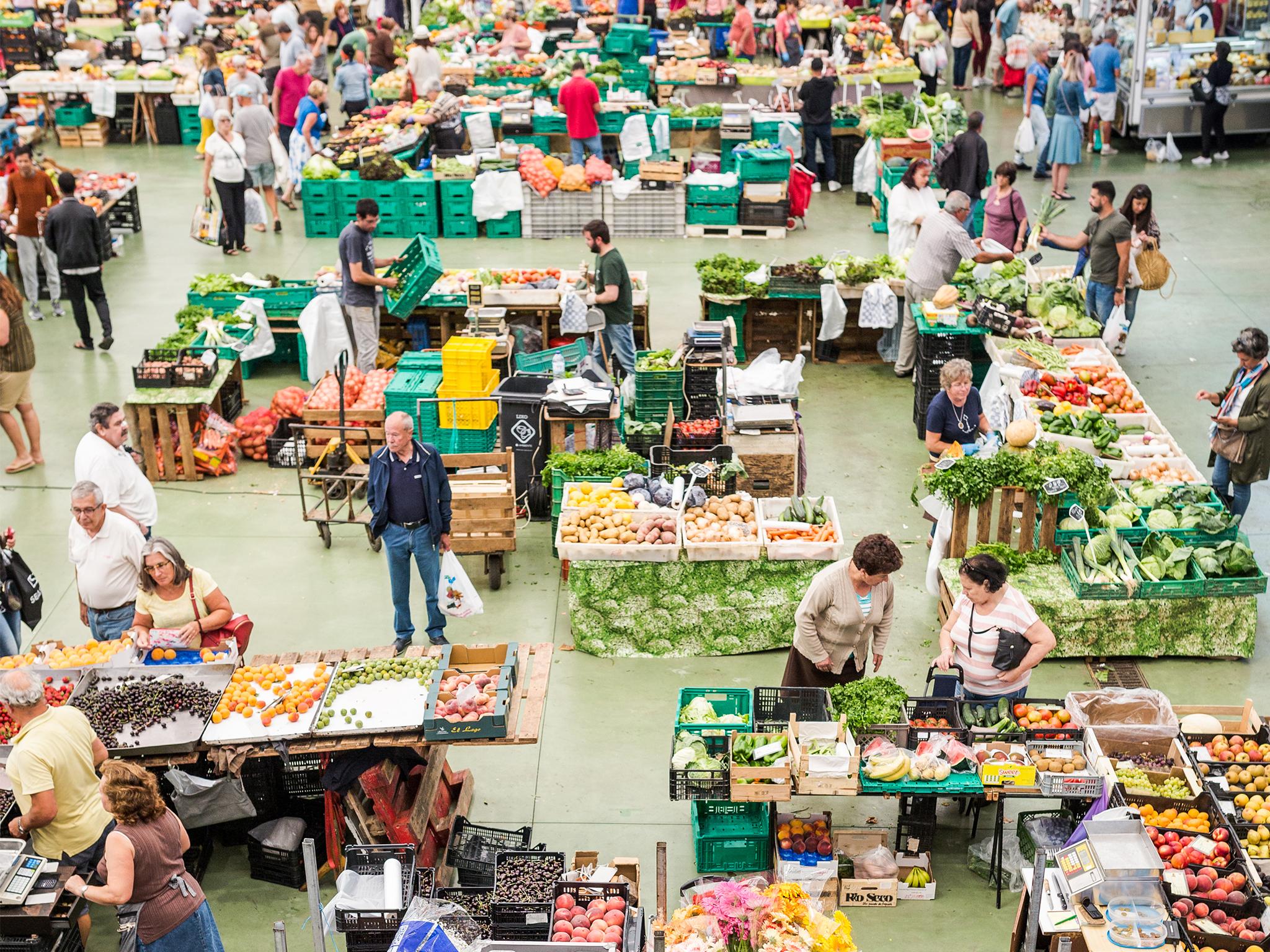 Mercado, Frescos, Mercado da Vila, Cascais