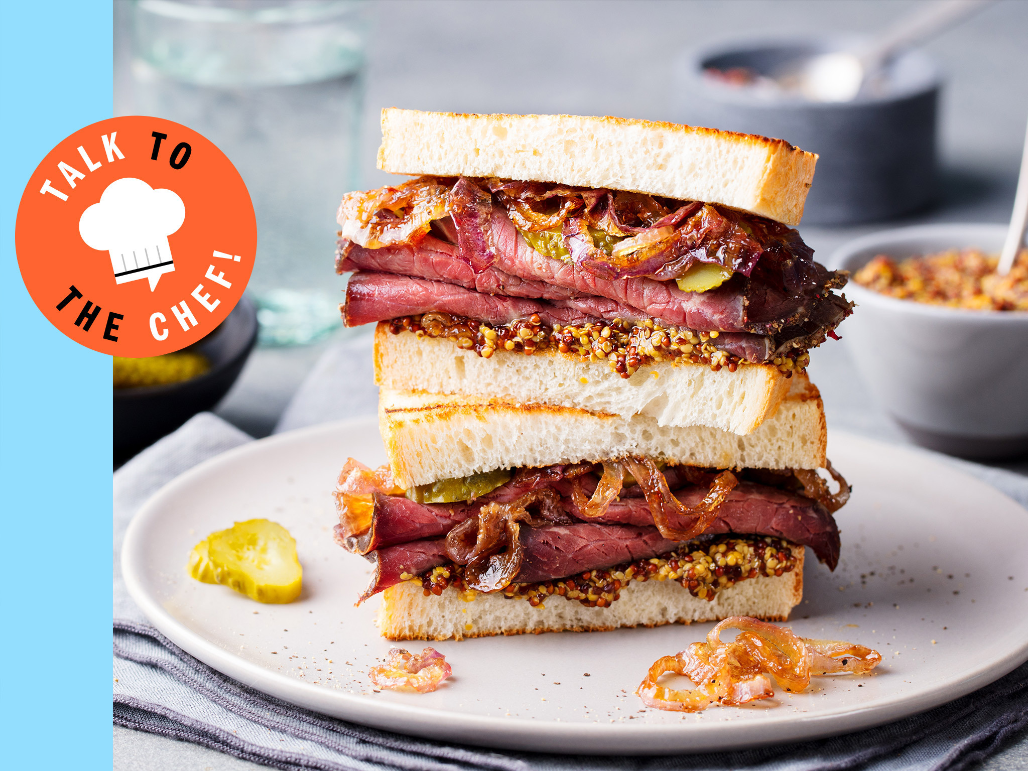 Talk to the Chef Sandwich