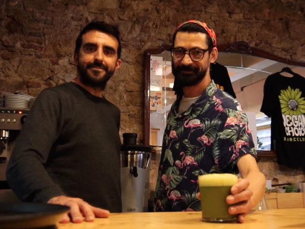 Gilbert Ramírez i Carlos Márquez, propietaris del CactusCat Bar