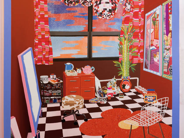 Rachael Tarravechia - The Red Studio (After Matisse)