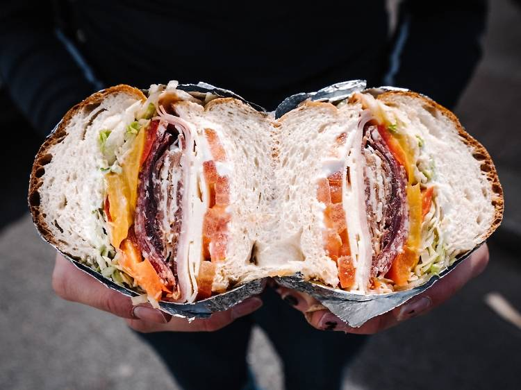 The Cold Cuts from Dom's Subs   London