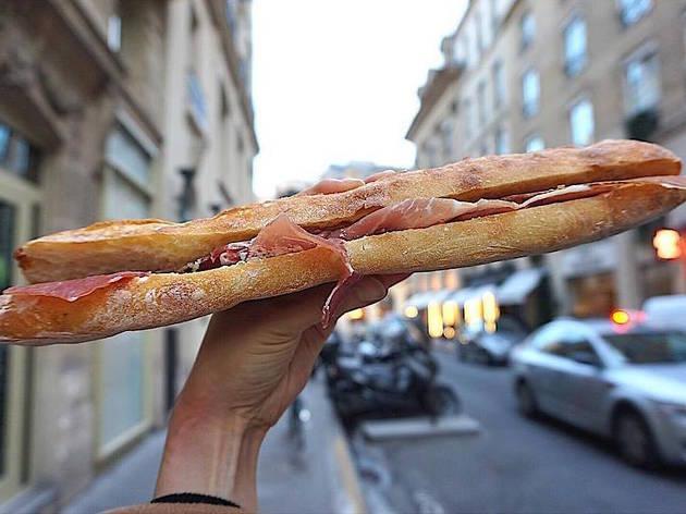jambon beurre from Le Petit Vendôme in Paris