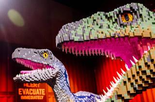 Jurassic World by Brickman exhibition