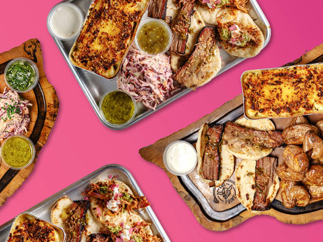 London's first drive-thru barbecue is a thing of beauty