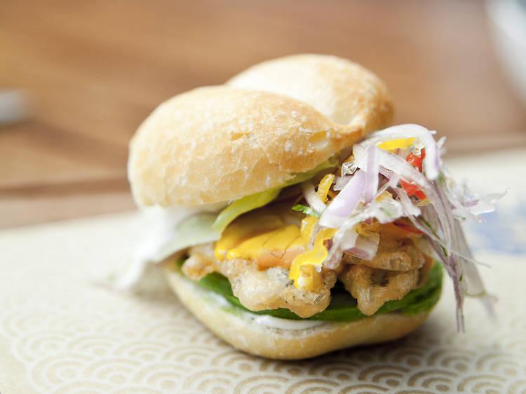 """Sandwich """"La Perla"""" from El Mercado   Lima"""