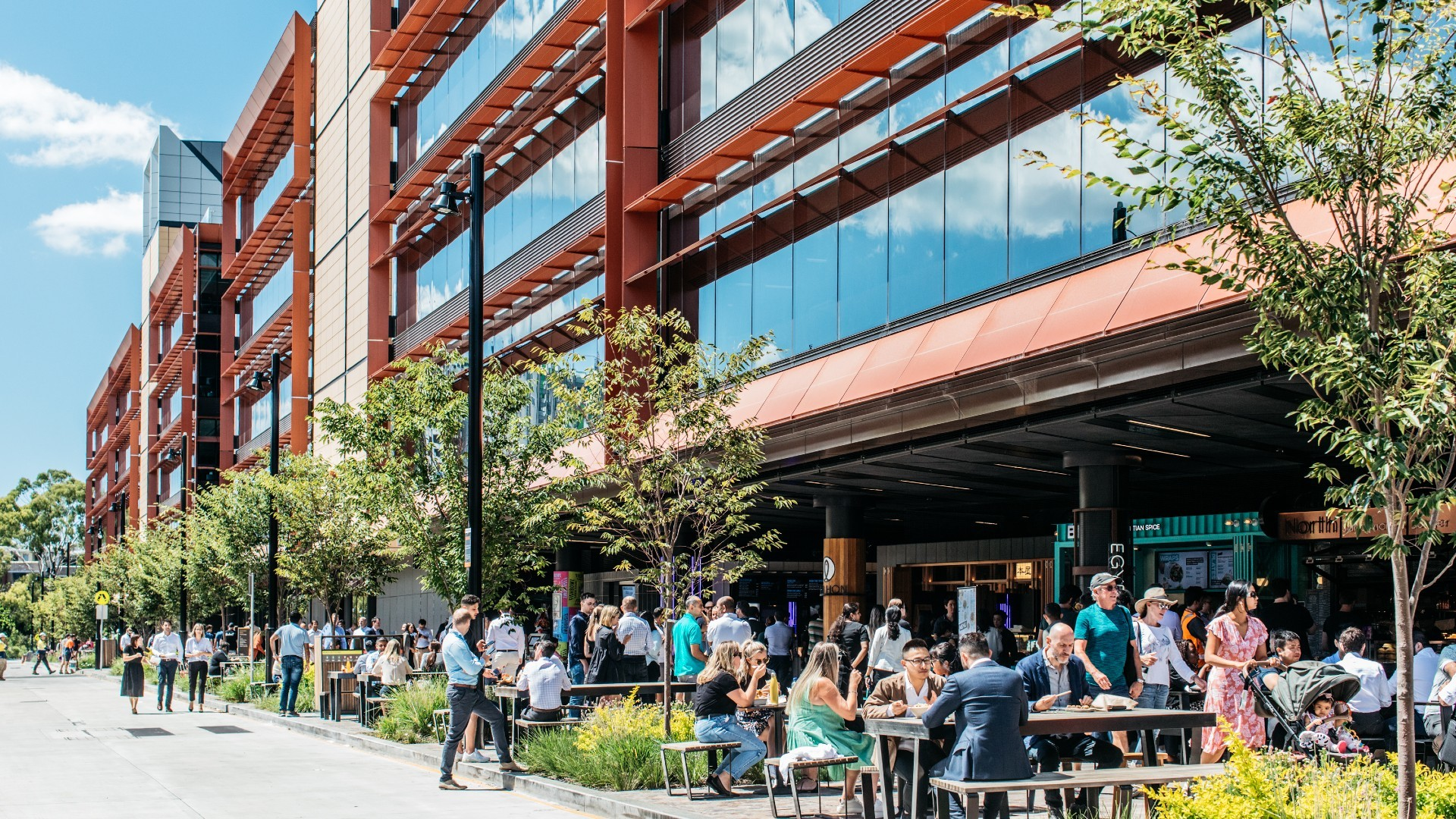 The buzzing, new South Eveleigh food precinct is open for business
