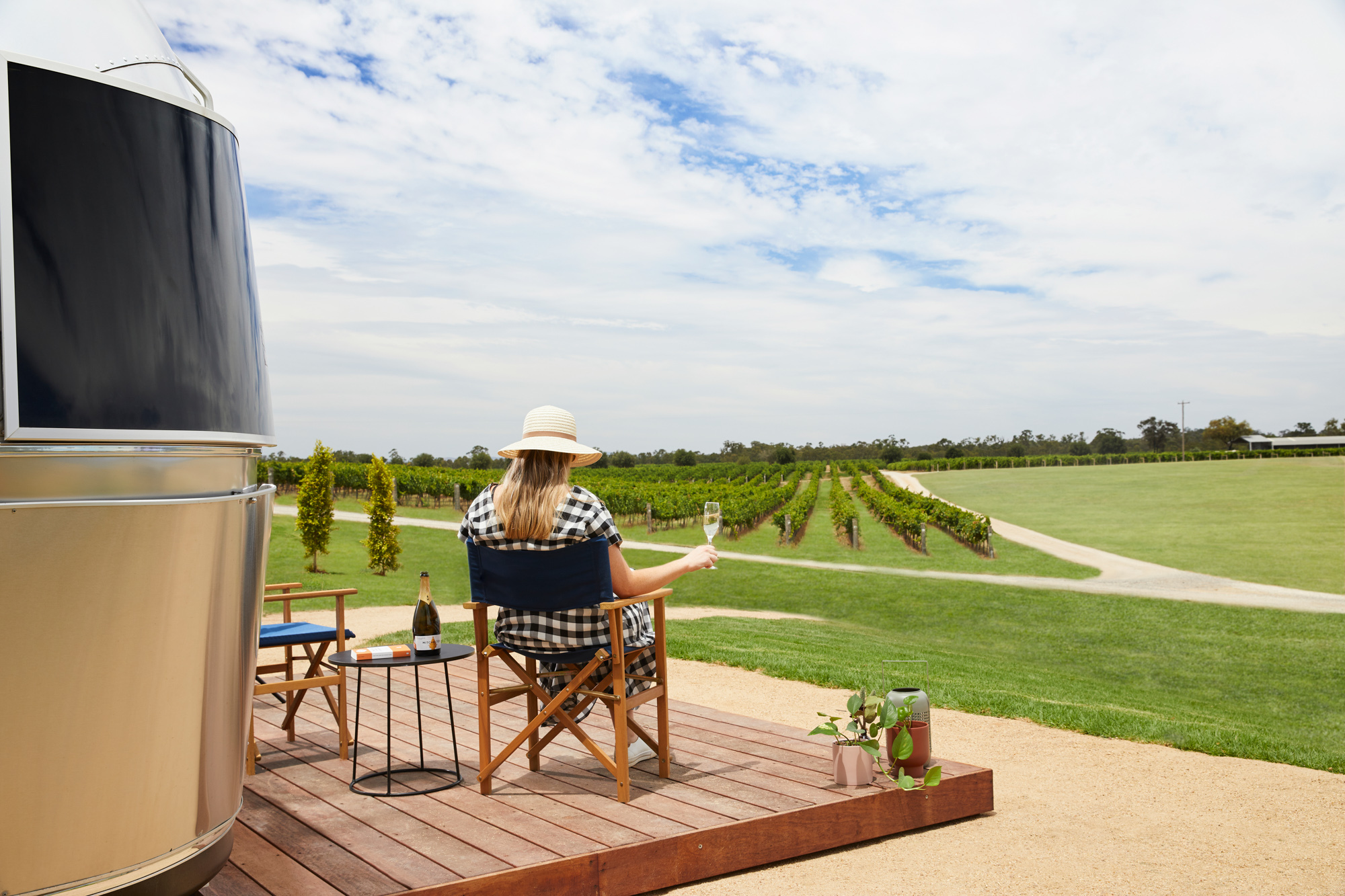 Mitchelton Winery Airstreams