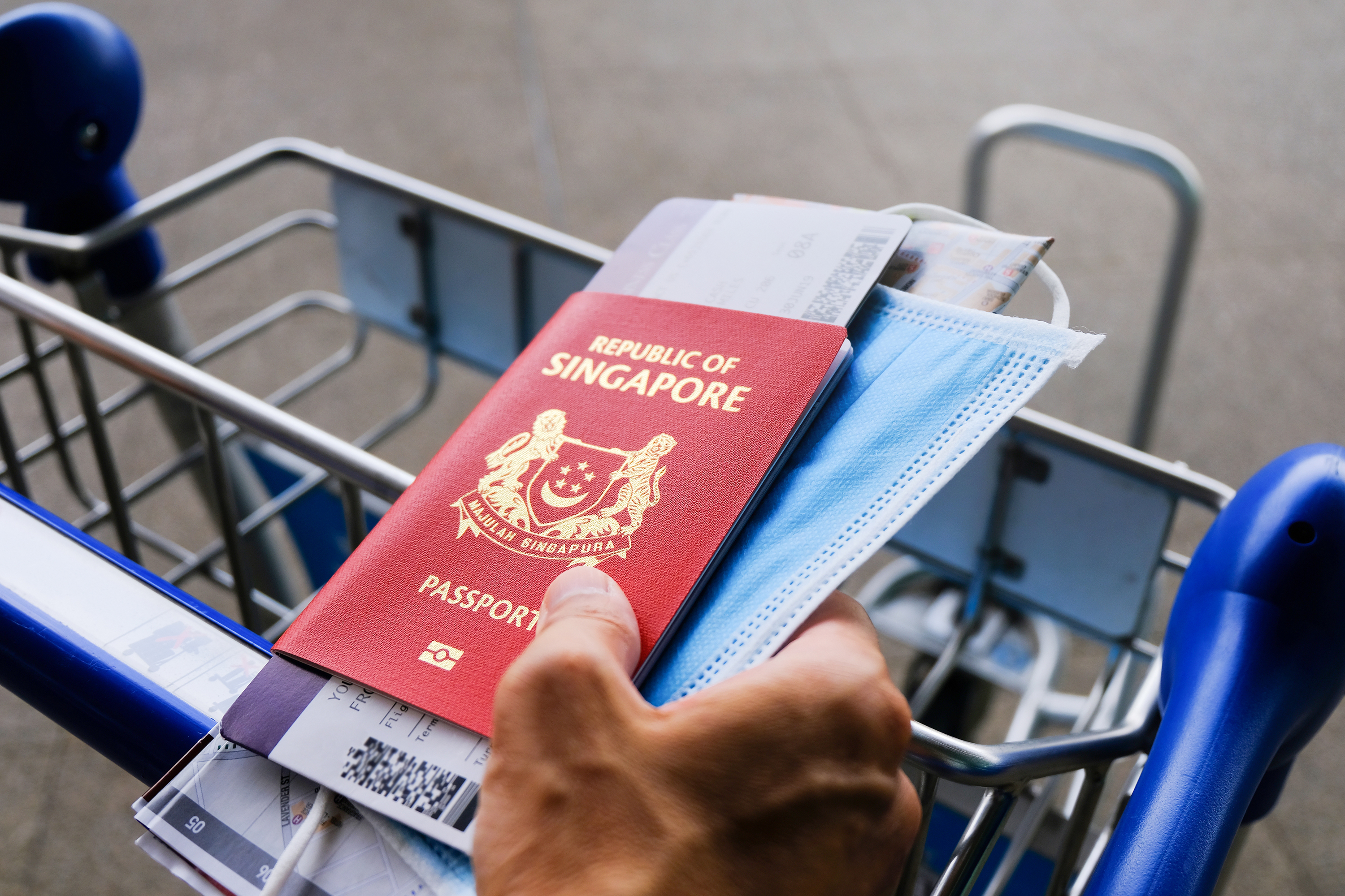 Singapore's passport remains the second strongest in the world