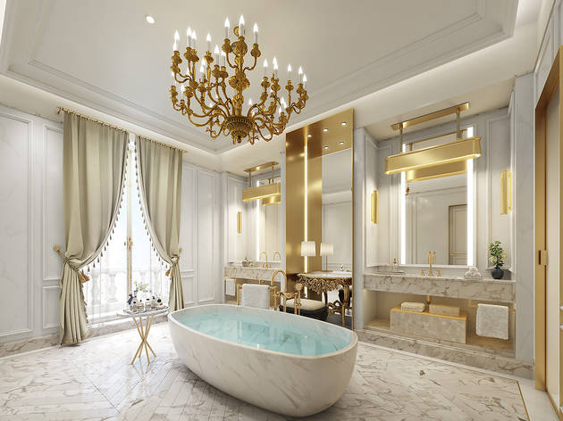 Baño Suite Real. Mandarin Oriental Ritz
