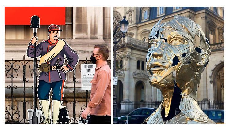Dugudus et Hopare / Collage Time Out