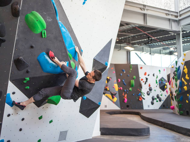 VITAL climbing bouldering gym brooklyn