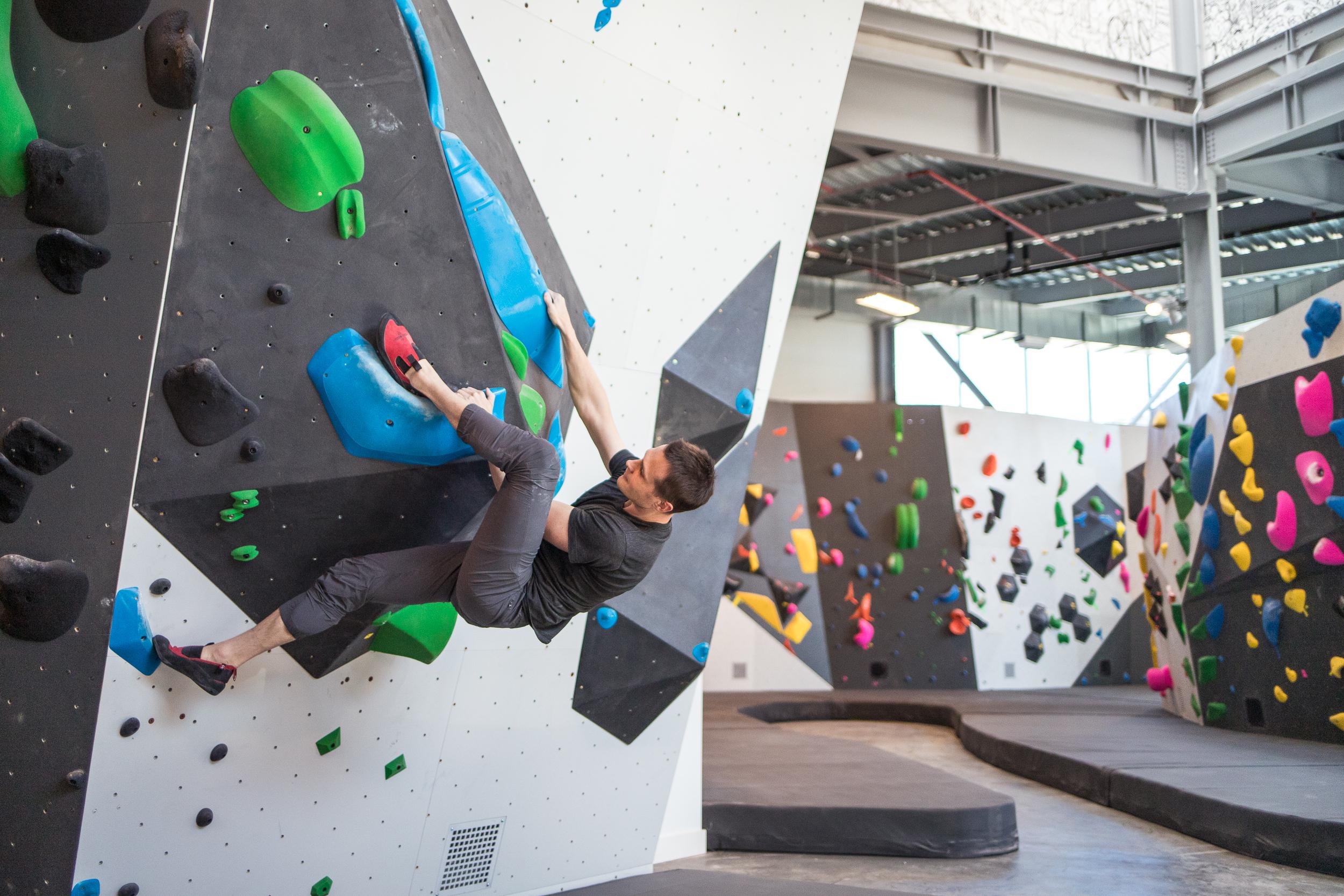 VITAL climbing bouldering gym brooklyn
