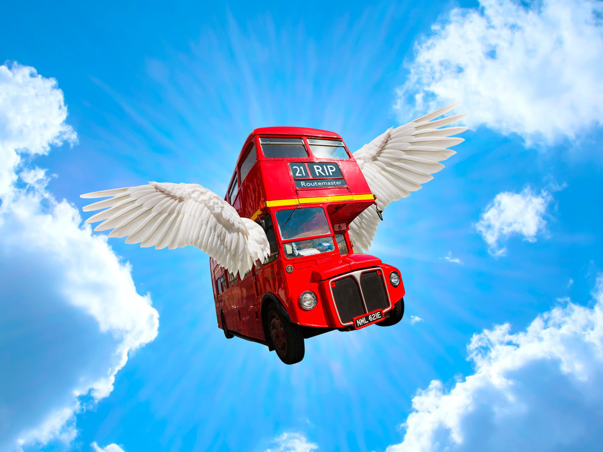 The classic Routemaster bus is going to heaven