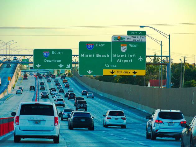 アメリカで最もストレスの多い高速道路はマイアミのI-95