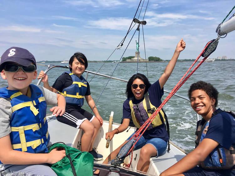 City Sail Summer Camp