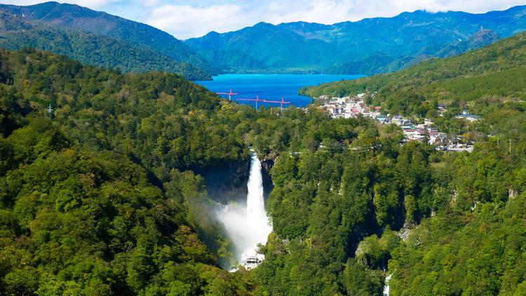Nikko, Kegon Falls, LakeChuzenji