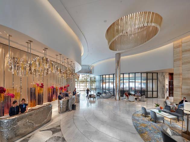 Crown Towers Hotel Lobby