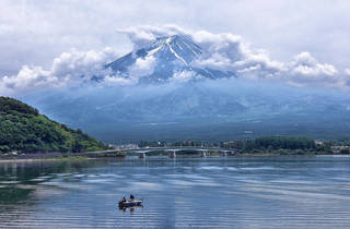 Mt Fuji - cropped to fit