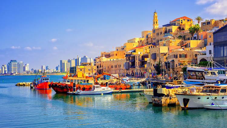 Port of Jaffa in Israel