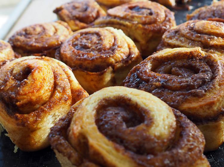 Sítios para comer cinnamon rolls no Porto