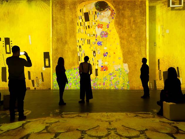 Gustav Klimt, protagonista de la nueva exposición inmersiva del Centre IDEAL del Poblenou