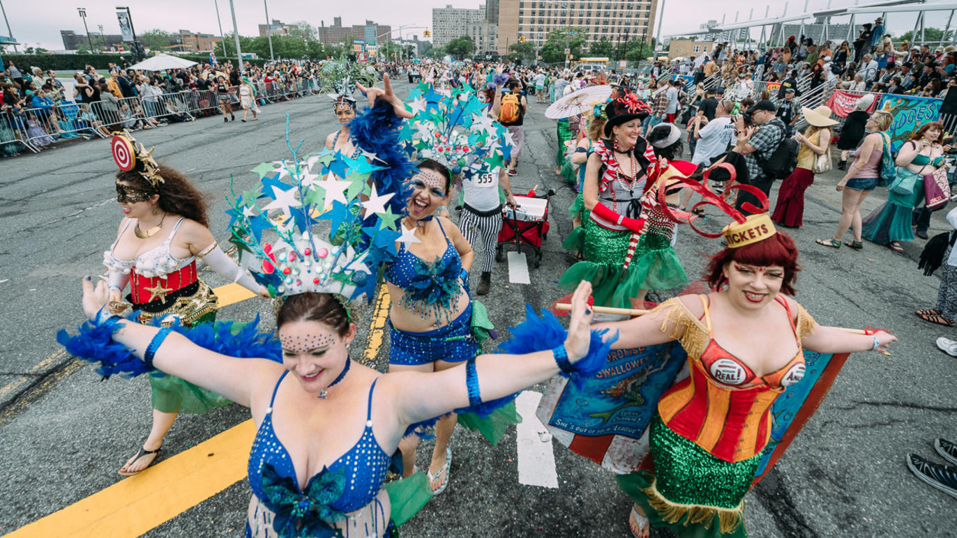 The iconic Mermaid Parade is happening in person this year