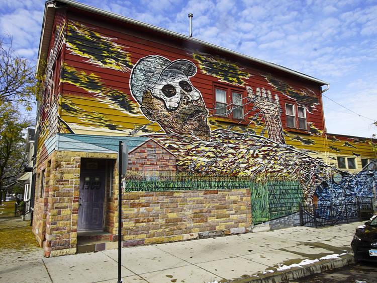 Appreciate Pilsen's mind-blowing street art